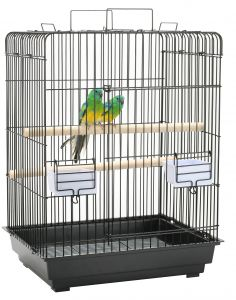Open Top Parrot Cage
